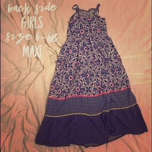 Girls Sz 6-6X Maxi Dress